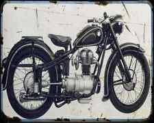 Bmw R25 2 1 A4 Photo Print Motorbike Vintage Aged