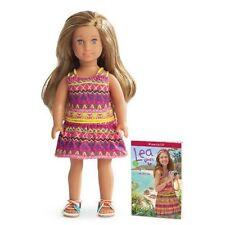 New American Girl Mini Doll Lea Clark Girl of the Year 2016  GOTY 2016 Beautiful