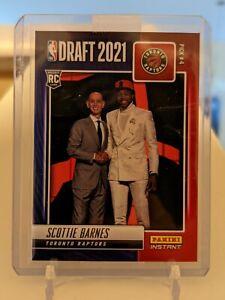 SCOTTIE BARNES 2021-22 Panini Instant NBA Draft Night RC Card RAPTORS SP /791