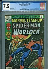 Marvel Team Up #55 (1977) CGC Graded 7.5 - Warlock