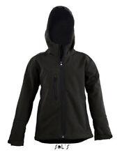 Vêtements imperméable noir pour fille de 2 à 16 ans Automne