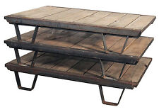 ON SALE!!!  1930's Industrial Wooden Pallets Iron Rustic Frame