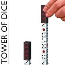 TENYO SIMILAR TOWER OF DICE AWESOME AMAZING CLOSEUP PARTY MAGIC TRICK