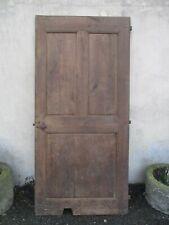 porte de manoir ancienne en chêne.
