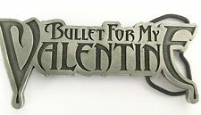 BULLET FOR MY VALENTINE BELT BUCKLE BFMV Official Licensed Heavy Metal Gothic