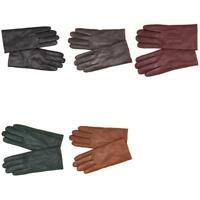 a New Day Womens Genuine Leather Tech Touch Screen Gloves SDSY2017-1