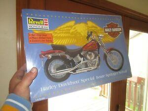 Revell  Harley Davidson Springer Softail Model Kit 1/8 Scale FACTORY SEALED