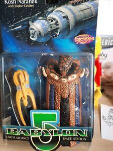 Babylon 5 Ambassador Kosh Naranek With Vorlon Cruiser Collectible Figure