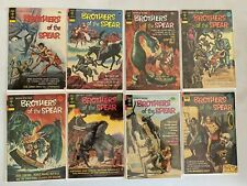 Brother of the Spear lot 10 different avg 5.0 VG FN (1973-75 Gold Key)