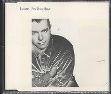 Pet Shop Boys - Before CD (Single)