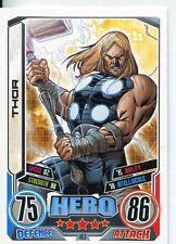 Marvel Hero Attax Series 2 Base Card #103 Thor