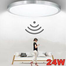 LED Deckenlampe mit Bewegungsmelder Sensor LED 24W Deckenleuchte Flurlampe Lampe