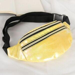 Chest Bag Women Fanny Pack Holographic Waist Laser Designer Belt Phone Pouch Bag