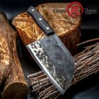 Chinese Forged Cleaver Handmade Chef Knife Meat Vegetables Chinese Kitchen Tools