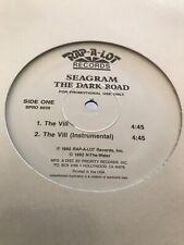 "SEAGRAM – The Dark Road  Rap-a-Lot Records 1992 Gangsta PROMO 12"" Single Mint"