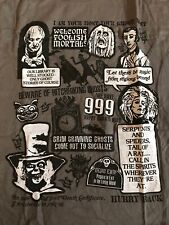 Nwt Disney Parks Haunted Mansion Limited T-Shirt Xl 999