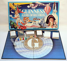 Vintage / Retro 1991 The Guinness Game Of Records - The Games Team