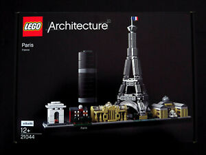 LEGO Architecture Paris 21044 France Cityscap Eiffel Tower The Louvre New Sealed