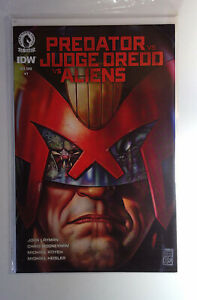 Predator Vs. Judge Dredd Vs. Aliens #1 Dark Horse (2016) NM 1st Print Comic Book