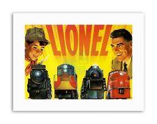 Lionel Trains nouveau Poster Photo vintage sport Toile Art Prints