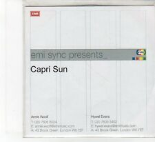 (FB98) Capri Sun, Breathe / Easy Life / Scarecrow - DJ CD