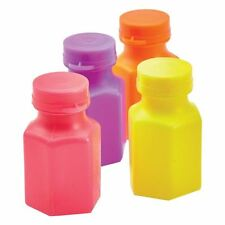4pk Mini Bubbles Favours Birthday Party Loot Gift Bag Filler