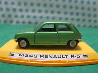 Vintage  -   RENAULT R5      -  1/43  Auto-Pilen  M-349