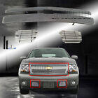 Fits 2007-2014 Chevy Tahoesuburbanavalanche Front Billet Grille Grill Combo