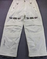 VOLCOM STATIC DIAPLEX Men WHITE 20K  WATERPROOF 20K BREATHABLE SKI PANTS  NEW XL