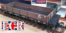 G SCALE 45mm GAUGE FLAT BED TRUCK BROWN FREIGHT GARDEN ROLLING STOCK COACH TRAIN