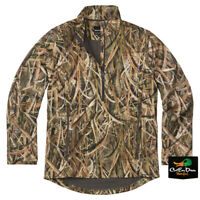NEW BROWNING WICKED WING 1/4 ZIP SMOOTHBORE JACKET - SHADOW GRASS BLADES CAMO -