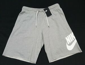 Nike Sportswear  Mens French Terry Shorts AT5267-063 light gray