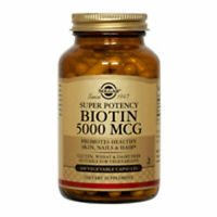 Biotin 100 V Caps 5000 mcg by Solgar