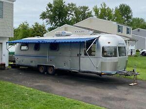 1983 Airstream Sovereign Aluminum Travel Trailer Camper