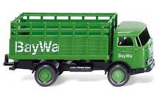 """#044603 - Wiking Gitteraufbau-Lkw (MB LP 321) """"BayWa"""" - 1:87"""