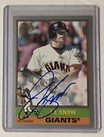 J.T. Snow Archives On-Card Auto 💥 Topps Fan Favorites SP /199 💥 Giants Angels