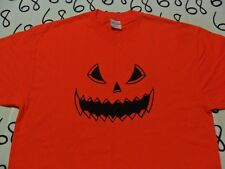XL- Halloween Pumpkin Spooky T- Shirt