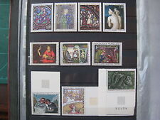 timbres France : tableaux 1963/68** YT n° 1478/1479/1494/1530/1531/1588/1589/..
