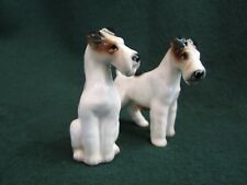 Vintage Enesco Imports Japan ~ Salt and Pepper Shakers ~ Airedale Terrier Dog