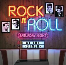 ROCK N' ROLL SATURDAY NIGHT AT THE DINER - VARIOUS ARTISTS (NEW SEALED CD)