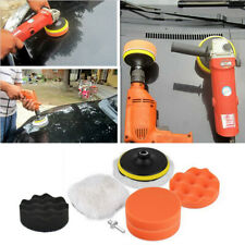 "7Pcs/set 3"" Buffing Pad Auto Car Polishing Wheel Kit Buffer + Drill Adapter"