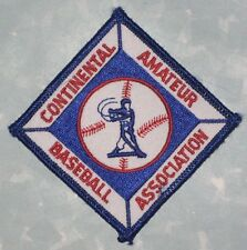 Continental Amateur Baseball Association Patch