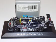 "1/43 Minichamps Mercedes Benz Sauber C9 ""AEG"" Car #62 from 1988 24 H of LeMans"