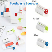 Rolling Tube Toothpaste Squeezer Cosmetic Easy Dispenser Seat Holder Stand-WI