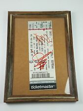 Ticketmaster Los Lonely Boys Signed Ticket With Frame