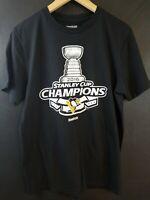 2016 Stanley Cup Champions Pittsburgh Penguins Reebok T Shirt Size M Medium