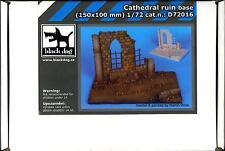 Blackdog Models 1/72 CATHEDRAL RUIN Resin Display Base