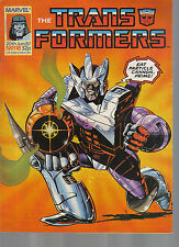 TRANSFORMES THE COMIC SERIES ISSUE NUMBER 118 VFN-