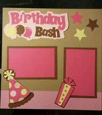 Birthday Bash - Girl - Scrapbook Cut Outs Only