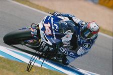 Randy De Puniet MotoGP Hand Signed Power Electronics Aspar ART Photo 12x8 2013 8